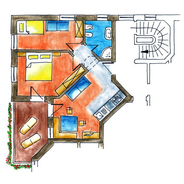 Floor plan Verena